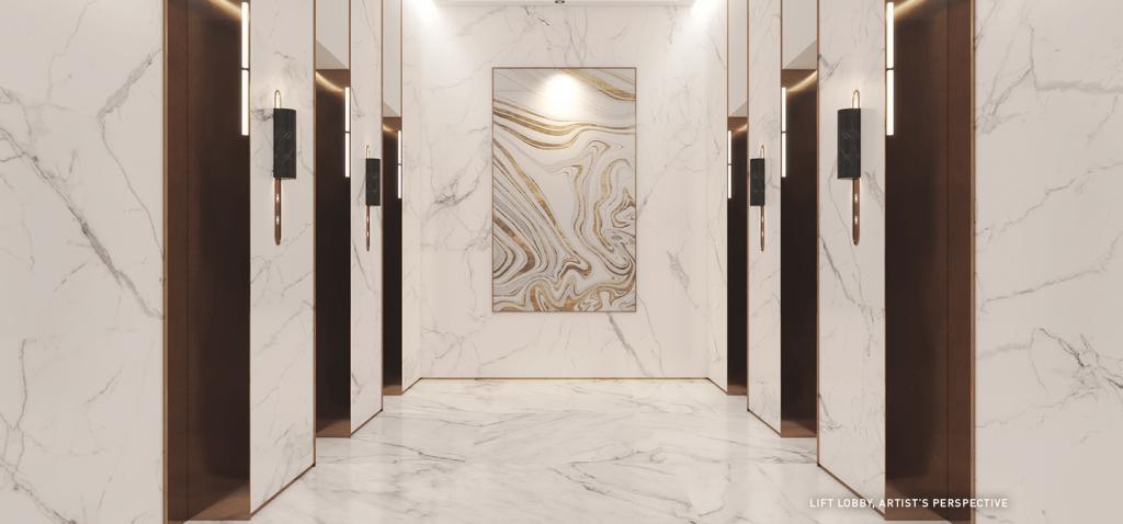 Lift Lobby - Sands Residences