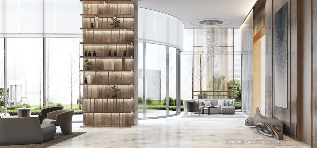 Grand Lobby 1 - Sands Residences