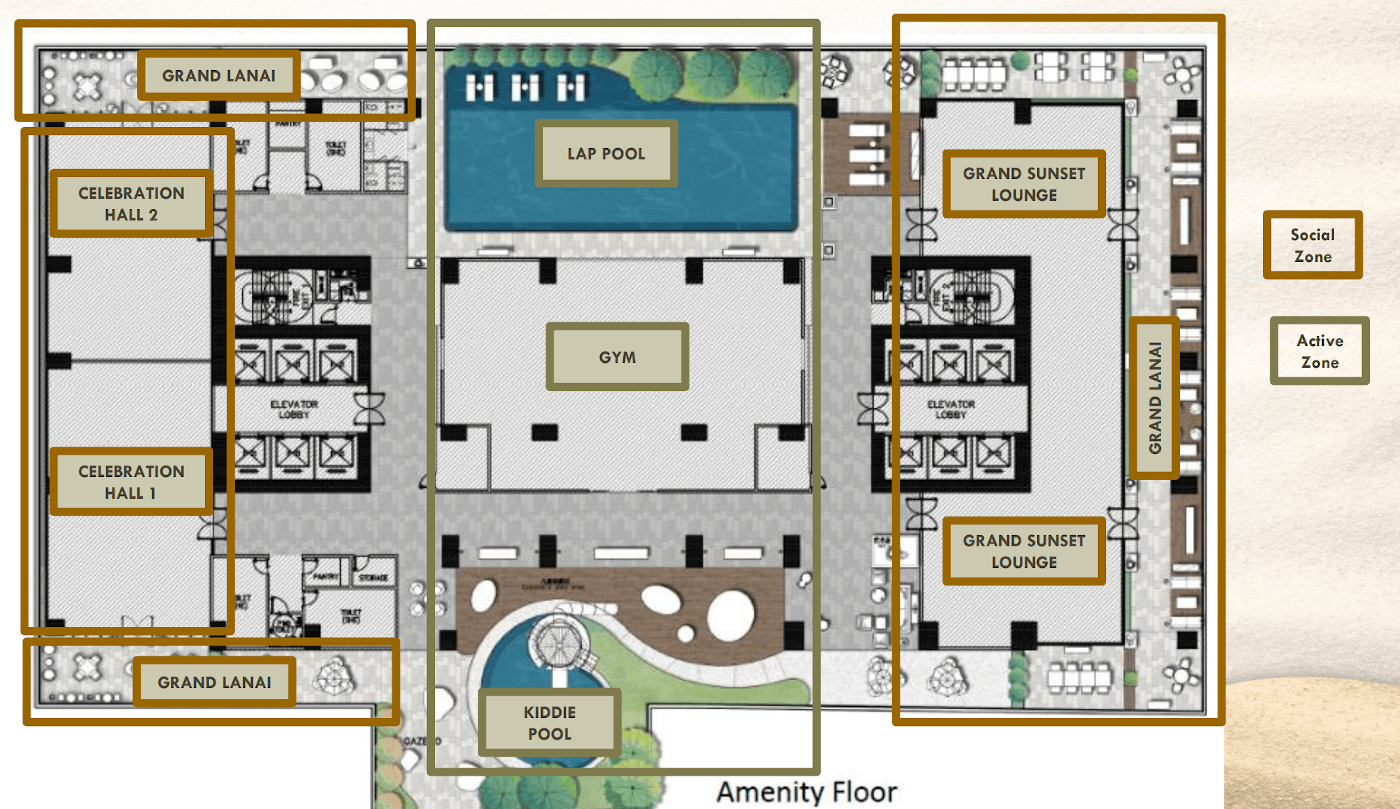 Sands Residences Amenity Map