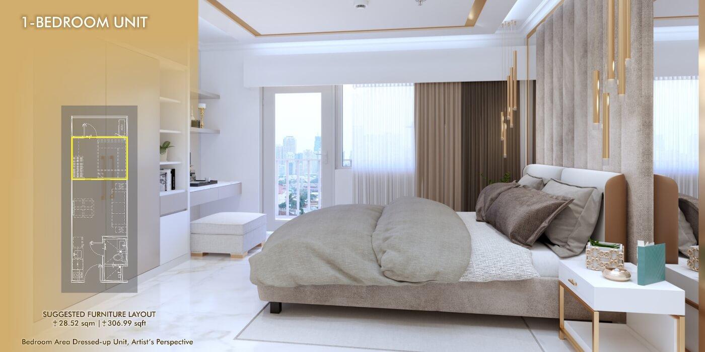 1-Bedroom 2 - Sands Residences