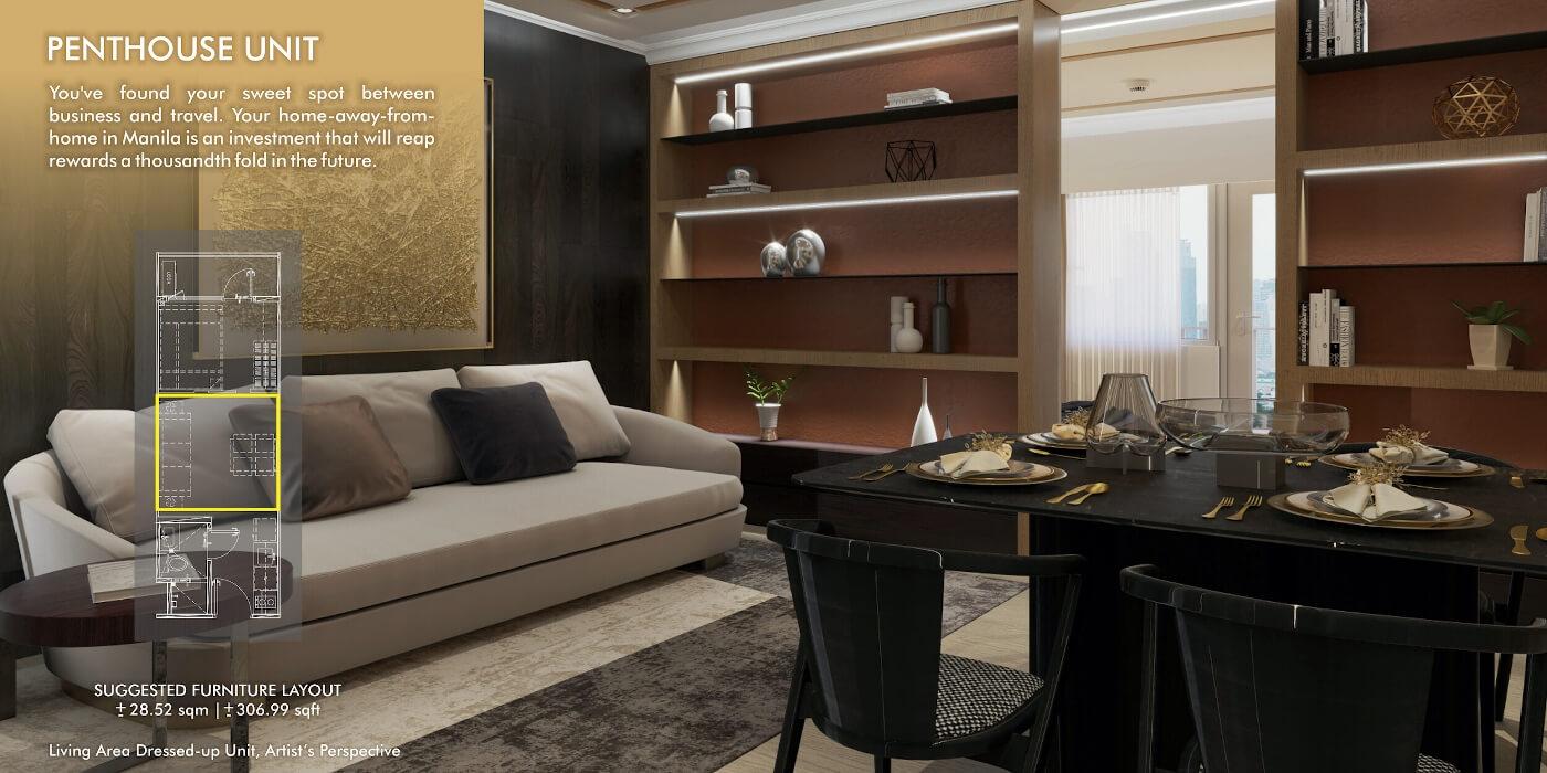 Penthouse Unit - Sands Residences